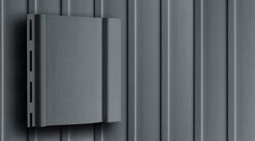 Акриловый вертикальный сайдинг 3,0 Grand Line S6,3 графит