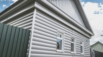 Блок-хаус new 0,5 Satin RAL 9006 бело-алюминиевый